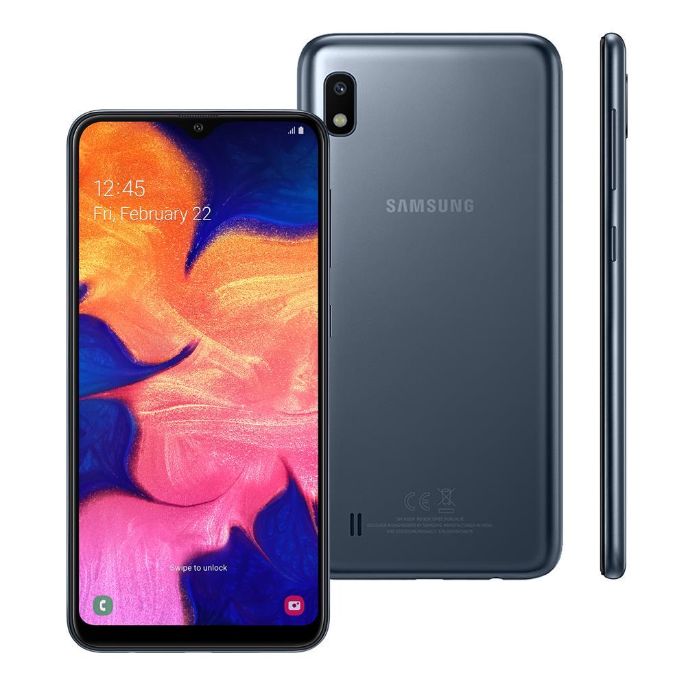 Samsung Galaxy A10 Preto 32GB em Promoção