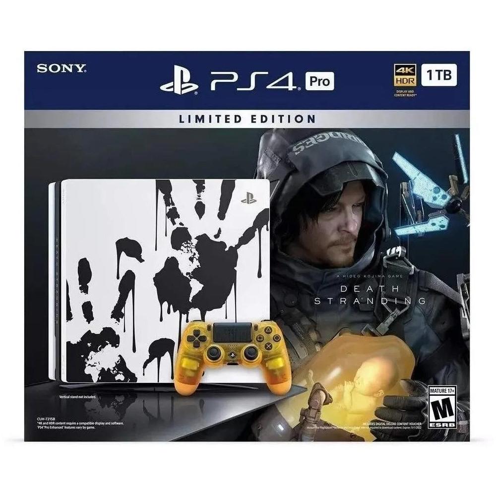PS4 Pro 1TB Death Stranding em Promoção