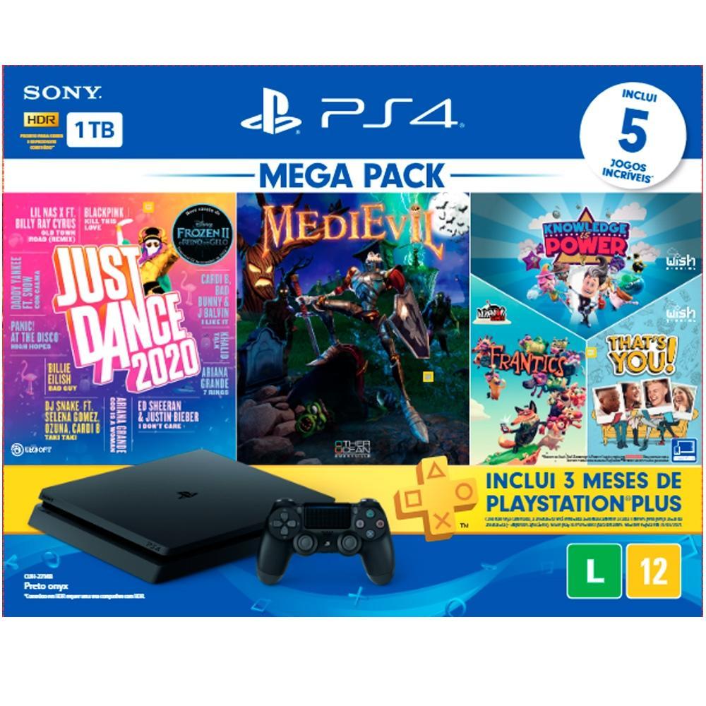 PS4 Mega Pack 5 Jogos em Promoção