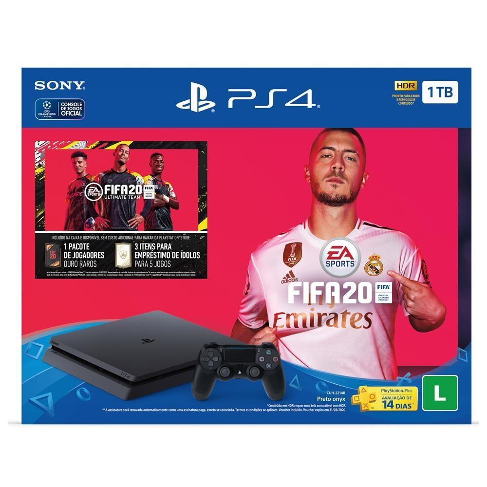 PS4 Pro 1TB FIFA 2020 em Promoção