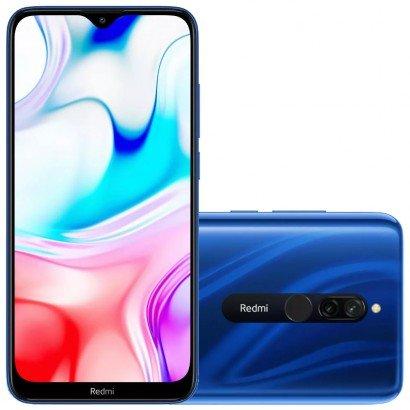 REDMI 8 64GB SAPPHIRE BLUE em Promoção